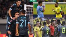 Goleadas y drama en las Eliminatorias Conmebol rumbo a Qatar 2022