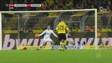 Al 91 'Paco' Alcacer sentencia el encuentro a favor del Dortmund