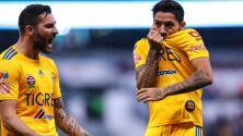 Gignac y Aquino titulares con Tigres para enfrentar al LAFC