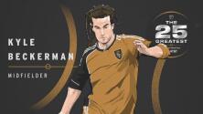 The 25 Greatest: Kyle Beckerman, una leyenda en el fútbol estadounidense que jugó 498 partidos en MLS