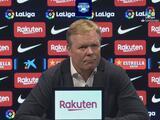 Ronald Koeman: Este Barcelona no es el mismo de hace ocho años