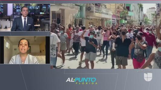 Nueva marcha del pueblo cubano contra el régimen castrista
