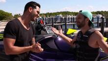 Motos acuáticas: Yisus se lanzó a la aventura con Gabaldoni para gozar del juguete acuático de moda del verano