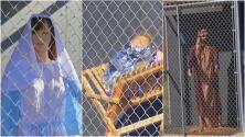 La Virgen María, Jesús y José separados en jaulas: el polémico pesebre de una iglesia en California