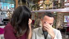 Alejandra Espinoza y Carlos Calderón también lloran, detrás de cámara todos se confiesan