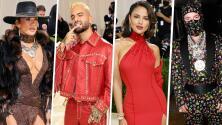 Jennifer López al estilo de 'Indiana Jones' y más latinos que robaron miradas con sus looks en la Met Gala