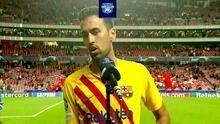 Busquets admite que Barcelona está en situación critica