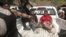 Graban la detención de varios sospechosos del asesinato del presidente de Haití, se cree que uno es estadounidense