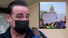 """César Évora habla del dolor que le provoca la situación que se vive en Cuba: """"Hay que respetar"""""""