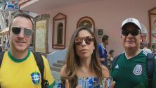Brasil y México tuvieron su primer enfrentamiento amistoso fuera de la cancha