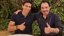 JJ Macías presume foto con Hugo Sánchez en Madrid
