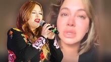"""Chiquis amanece """"hinchada"""" de tanto llorar y esta fue la razón que la llevó al llanto"""
