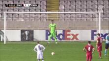 ¡GOOOL! Jordi Gomez Garcia-Penche anota para Omonia Nicosia.