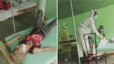 """""""No hay ningún medicamento para atenderte"""": la crítica situación en los hospitales de Cuba por el covid-19"""