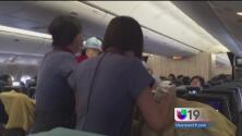 Bebé nace abordo de vuelo rumbo a LA