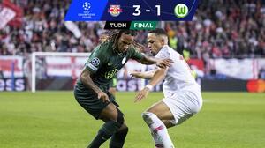 RB Salzburg se apodera del Grupo G tras vencer a Wolfsburg