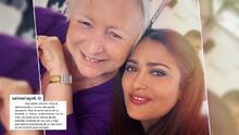 Muere la cuñada de Salma Hayek y la artista le dedica un nostálgico mensaje en sus redes sociales