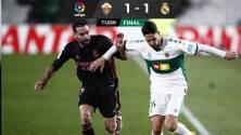 Real Madrid empata ante el Elche y deja libre el camino al Atlético