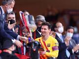 Lionel Messi alza su título 35 con el FC Barcelona