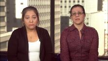 Jorge Ramos habla con dos mujeres que aseguran haber trabajado indocumentadas para Donald Trump