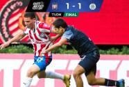 Tapatío no pasa del empate en casa 1-1 con Cancún