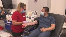 Paso a paso: Así es el proceso para donar sangre a la Cruz Roja Americana en el área de Dallas-Fort Worth