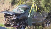 """""""Tiene suerte de haber salido vivo"""", esto es lo que se conoce del accidente vehicular que sufrió Tiger Woods"""