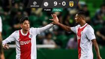 Goleada de escándalo del Ajax al Cambuur