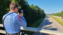 Más de 40 citaciones por exceso de velocidad en dos horas: realizan operativos en Raleigh