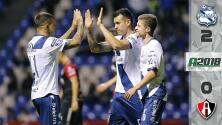 Puebla 2-0 Atlas - RESUMEN Y GOLES - Jornada 6 del Apertura 2018 de la Liga MX