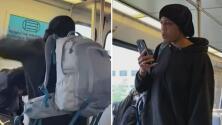 """""""Me dijo que por qué yo no hablaba inglés"""": una salvadoreña embarazada recibe una golpiza en el metro de Washington DC"""