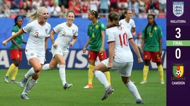 En duelo de alta tensión arbitral, Inglaterra elimina a Camerún y avanza a Cuartos de Final