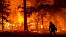 Los incendios forestales y una nueva ola de calor tienen a millones de personas en EEUU bajo alerta