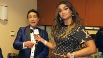 Clarissa propone a Los Ángeles Azules crear un nuevo ritmo para poder cantar con ellos