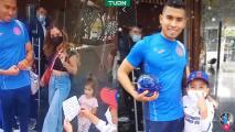 """Niño le dedica carta a Orbelín: """"Si vuelves a México hazlo con Cruz Azul"""""""