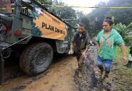 Sepultados tras el huracán Grace: un hombre pierde a cinco miembros de su familia en Veracruz