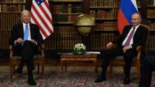 ¿Qué pasó en el cara a cara de Joe Biden y Valdímir Putin? Te contamos todos los detalles