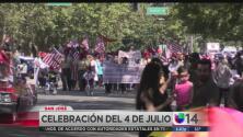 Desfile del 4 de julio en San José