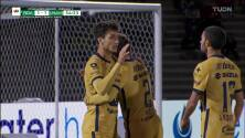 ¡TIRO ATAJADO! disparo por Gabriel Torres.
