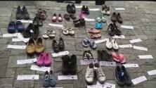 Madres de niños en Venezuela que requieren trasplantes de órganos protestan contra el régimen de Maduro