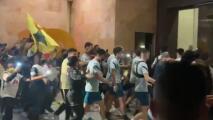 ¡América provoca caos! Fans cerca de invadir el hotel en Monterrey
