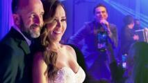 Tanya y Sebastián tuvieron una recepción única, llena de emotividad y el ritmo de Silvestre Dangond