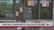 Buscan a ganador de un millón de dólares que no ha reclamado su premio en Houston