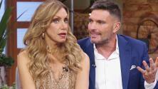 Julián Gil sorprende a Lili al preguntarle si se atrevería a hacer la escena de un beso con él