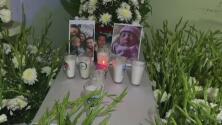 Un padre de familia mexicano llora la muerte de su esposa y sus cinco hijos tras el paso del huracán Grace