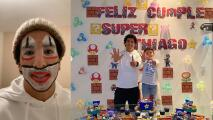 Cecilio Domínguez se convierte en payaso por el cumpleaños de su hijo