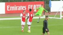 ¡En fuego! El mexicano Marcelo Flores vuelve a anotar con Arsenal