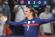 Resumen | Francia doblega 2-0 a Finlandia con un Griezmann explosivo