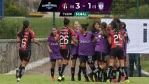 Atlas hace historia en la Liga Femenil