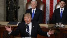 """Trump hace un llamado a la unidad de los partidos para resolver """"todo lo que está roto"""""""